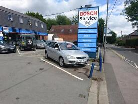 FORD FOCUS Ghia Full service history, 12 months warranty, 12 months mot (silver) 2005