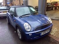 Mini One Convertible 2007 Good Condition 33,000 Miles