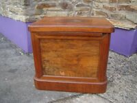 Vintage comode for use as coffee table etc, refurb or use as is