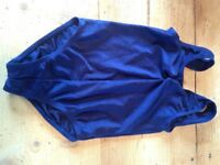 Childrens blue dance leotard Size 1