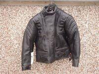 NEW Skintan motorcycle leather jacket