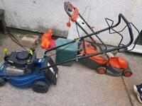 lawnmower as new