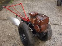 for sale tractor villiters and plougs perfect engine and gearbox