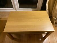 IKEA oak effect coffee table free for collection