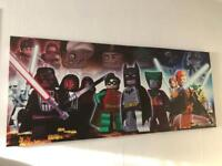 Large Lego Star Wars rectangle canvas
