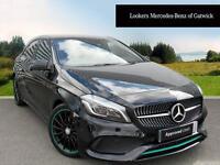 Mercedes-Benz A Class A 220 D MOTORSPORT EDITION PREMIUM (black) 2016-09-07
