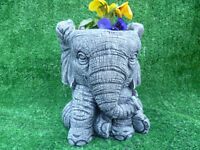 stunning elephant planter garden ornament £12