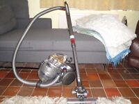 1 day sale , dyson dc20 stoaway , with large turbine brush head, great suction