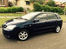 2006 Toyota Corolla Auto Conquest Sports Low Ks LONG REGO 2 Keys. Meadowbank Ryde Area Preview