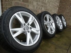 Winter set alloys genuine 17'' Audi fit to a3, a4b6, b7 , a5,a6