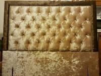 Handmade upholstery fabric Headboard