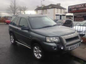 2004 54 LAND ROVER FREELANDER 1.8 XEI SPECIAL EDITION HARD TOP -- ROOF CAN COME OFF