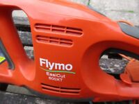 Flymo Hedge Trimmer with blade cover