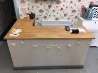 Shop retail counter and till