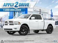 2012 RAM 1500 Sport 4x4 After Market Rims & Tires Nice