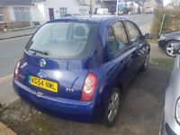 Nissian Micra 1.4 petrol car.