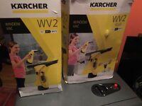 2 x Karcher Window Vacs, WV2 & WV2 Plus.
