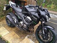 Kawasaki Z800 2014 AEF in stunning metallic Black - Will consider P/X