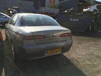 2005 ALFA ROMEO 156 JTD 16V SPORT (MANUAL DIESEL)