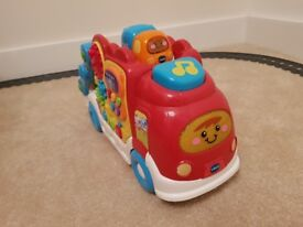 Toot Toot Drivers Car Carrier and Race Car Shooter