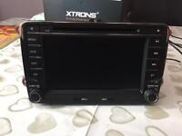 "Xtrons 7"" Touch Screen Stereo / GPS DVD DAB for Volkswagen / Seat / Skoda"