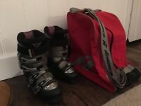 Nordica Ski Boots, size 23.0 and boot bag