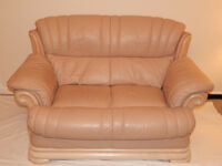 2 Seater Leather Suite