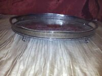 Silver-plated Tray