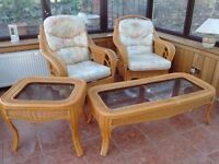 HOUSE CLEARANCE GET READY FOR SPRING Various sun room furniture in great condition (offers)