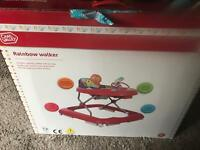 Brand new baby walker unopened