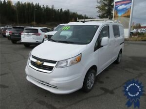 2015 Chevrolet City Express Cargo Van LT - Seats 2, 21,200 KMs