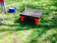 Dog agility table