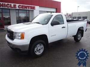 2013 GMC Sierra 2500HD WT Regular Cab 2WD - Tow Pkg. - 8 Ft Box