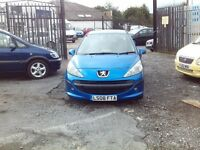 2008 PEUGEOT 207 1.4 ONLY DONE 93K