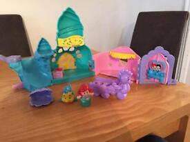 Ariel Castle with accessories