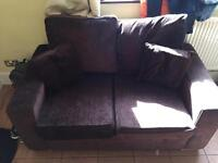 *Must See* Brown Double Sofa