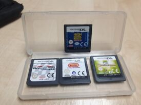 Nintendo DS games..... super mariokart, Ben 10, High School Musical