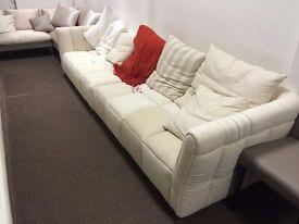 Lagos Long 4 Seater Sofa (Display Model) HUGE SAVINGS