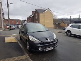 09 (2009) Peugeot 207 for sale long MOT low milage and full service history