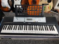 Keyboards and guitars