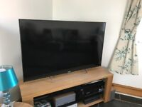 "Sony Bravia HD Android 1080p 50"" KDL-50W805C smart 3D LCD TV."