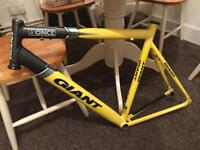 Giant road bike frame, 55.5cm