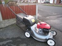 Honda Izy HRG536 Petrol Self Propelled Lawnmower Fully Serviced Large 53cm Cutting Width Great Mower