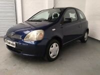 2000 TOYOTA YARIS 1.3 GLS AUTOMATIC *** FULL YEARS MOT ***