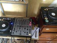 Pioneer CDJ 1000Mk3 & DJM-600 Mixer