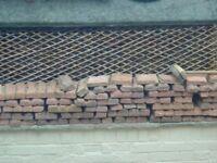 garden edge tiles/stones teracotta brick effect various sizes