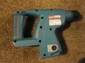makita 24 volt rotary hammer drill carcase