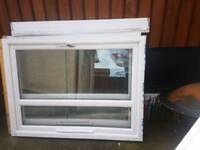 2 x double glazed windows, ledges & lintels