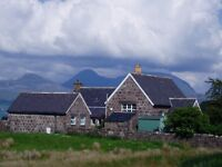 Unique property for sale on Applecross coast road, 10 miles from Shieldaig, Wester Ross, Highlands