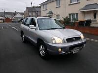 4x4 diesel Hyundai Santa Fe 54 reg with tow bar ,good condition, long mot June 2018 , px welcome